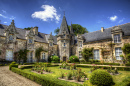 Castle of Rochefort en Terre, Brittany