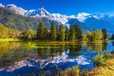 Early Autumn in Chamonix, France