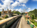 Train Station at Corfe Castle, Dorset