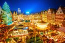 Traditional Christmas Market in Frankfurt