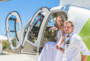 Helicopter Ride for the Newlyweds
