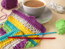 Crochet Work and a Coffee