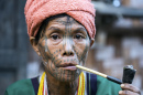 Muun Tribe Woman in Myanmar