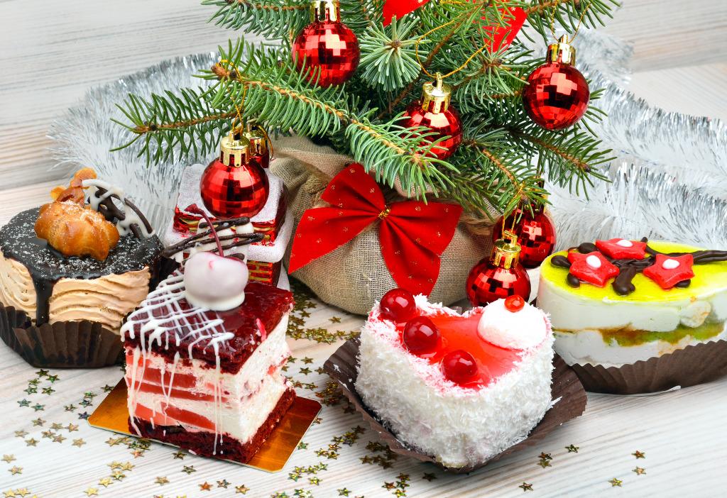 новогодние картинки с тортами салонах