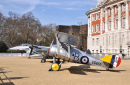 Old Aircraft on Display in London