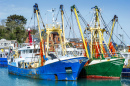 Fishing Trawlers in Cornwall