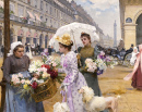 Flower Seller - Rue de Rivoli