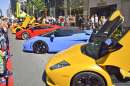 Yorkville Exotic Car Show in Toronto