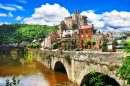 Estaing Village in France