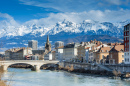 Grenoble in Winter