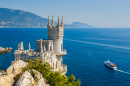 Swallow's Nest Castle Near Yalta, Crimea