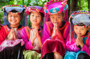Hmong Children in Chiangmai, Thailand