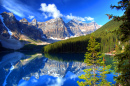 Moraine Lake, Banff, Canadian Rockies