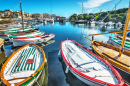 Wooden Boats, Stintino Harbor, Italy