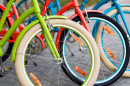 Colorful Bike Tires