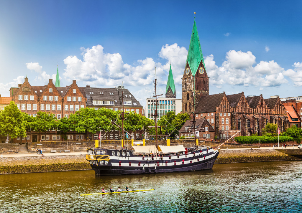 bremen germany jigsaw puzzle in street view puzzles on. Black Bedroom Furniture Sets. Home Design Ideas