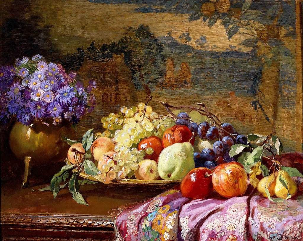 Still Life with Fruit jigsaw puzzle in Fruits & Veggies ...