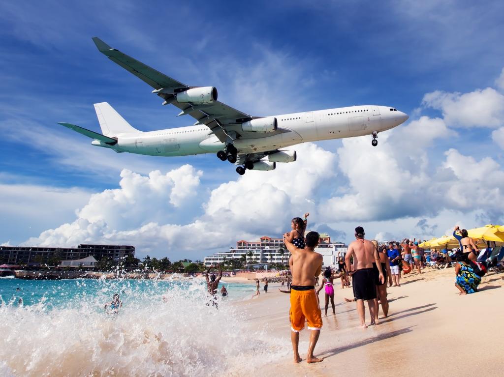 Картинка море самолет пляж учителя