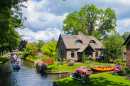Canals of Giethoorn, The Netherlands