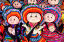 Woolen Dolls in Cuzco, Peru