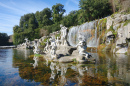 Atteone and Diana's Fountains, Caserta, Italy