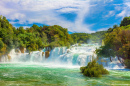 Skradinski Buk Waterfalls, Croatia