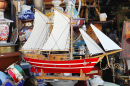 Wooden Sail Ship Model