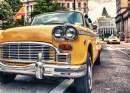 Classic Yellow Cab in Manhattan
