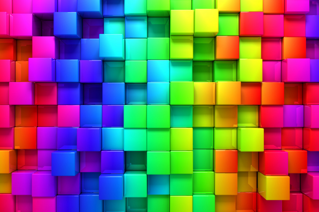 Boxed Rainbow Jigsaw Puzzle In Of The Day Puzzles On