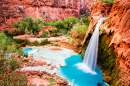 Havasu Falls, Havasupai Indian Reservation