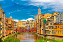 Eiffel Bridge, Girona, Spain