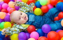 Playing in a Ball Pit