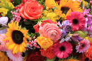 Bright Bouquet of Summer Flowers