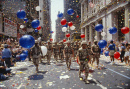 Soldiers in Tickertape Parade, NYC