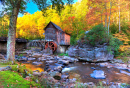 Old Grist Mill in West Virginia