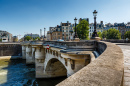 Pont Neuf and Cite Island in Paris