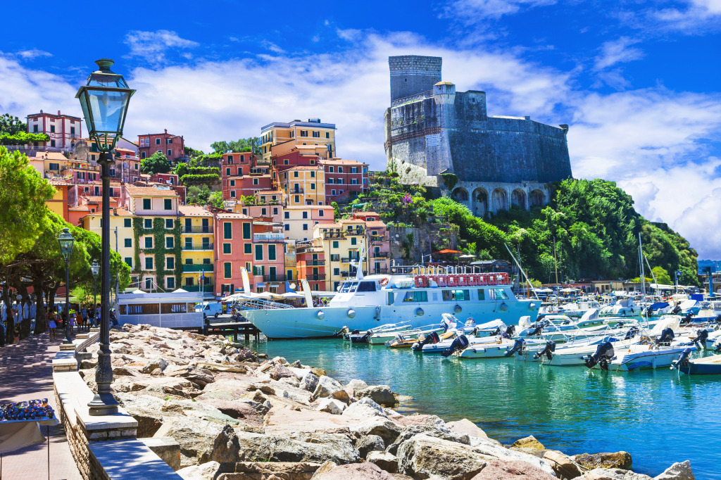 Lerici Town In Liguria Italy Jigsaw Puzzle In Great