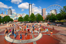 At the Centennial Olympic Park, Atlanta