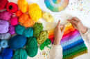 Crocheting the Rainbow