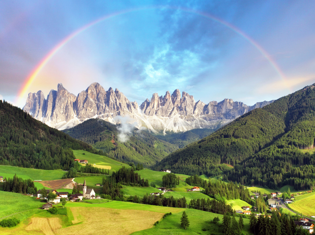 Dolomites Italian Alps Jigsaw Puzzle In Puzzle Of The Day