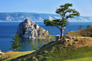 Olkhon Island on Lake Baikal, Russia