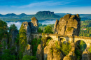 Bastei Bridge in Germany