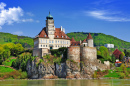 Old Abbey Castle on Danube, Austria