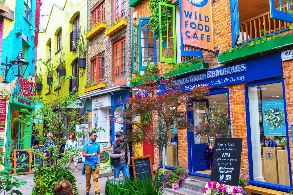 Neals Yard London Jigsaw Puzzle In Puzzle Of The Day