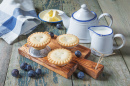Pies with Plums and Butter