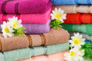 Colorful Towel Stacks