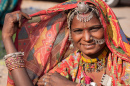 Indian Woman in Rajasthan