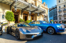 Luxury Cars near Monte Carlo Grand Casino