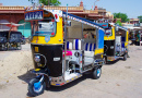 Auto Rickshaws in Jodhpur, India