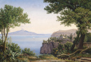 View of Mount Vesuvius